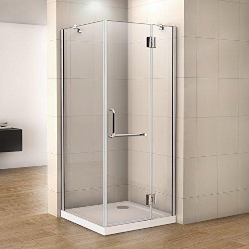 100 X 80 X 190 Mampara de ducha 8 mm Easy Clean Cristal de Seguridad para Puerta de ducha Ducha (HN10 – de 2 se + 1B de S + whn80 de se): Amazon.es: Bricolaje y herramientas