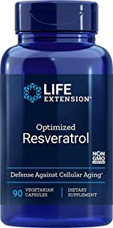 Life Extension Optimized Resveratrol, 90 Vegetarian Capsules