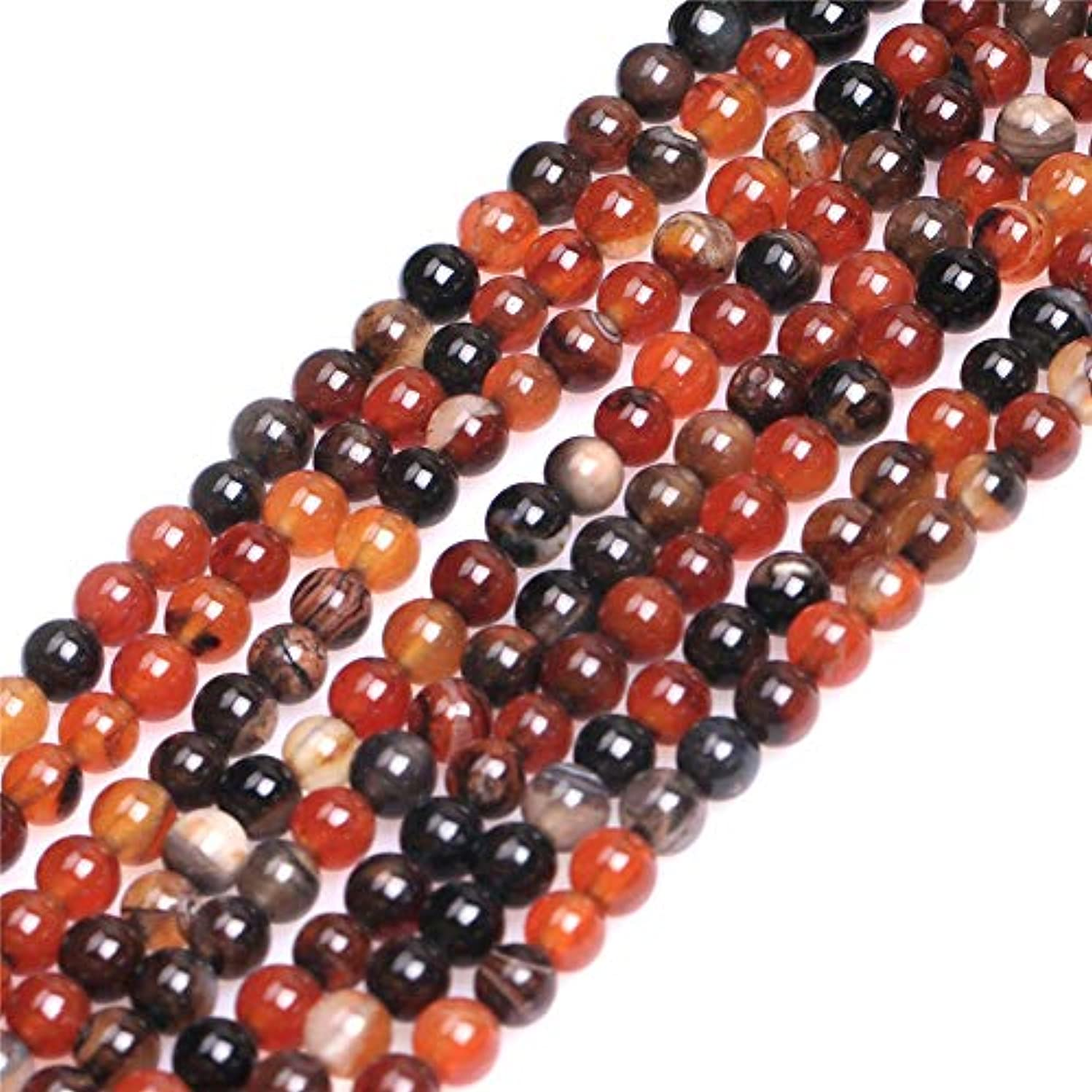 4mm Dream Lace Agate Beads for Jewelry Making Natural Semi Precious Gemstone Round Strand 15