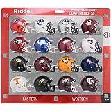 Riddell NCAA Pocket Pro Helmets, SEC Conference Set, (2020) New