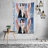 2021 山田涼介、Yamada Ryosuke タペストリー ファッションの絶妙な印刷リビングルームの入り口寝室の背景壁の装飾カスタマイズされた壁掛け布 (152*102cm)
