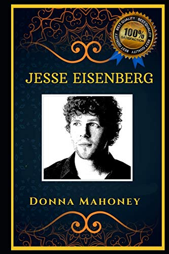 Jesse Eisenberg: Famous Actor, the Original Anti-Anxiety Adult Coloring Book