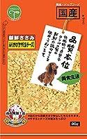 (まとめ買い)友人 新鮮ささみ ふりかけささみ&チーズ 80g 犬用 【×20】