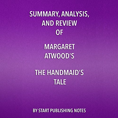 Summary, Analysis, and Review of Margaret Atwood's 'The Handmaid's Tale' audiobook cover art