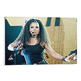 WANGDING Janet Jackson Poster / Kunstdruck auf Leinwand,