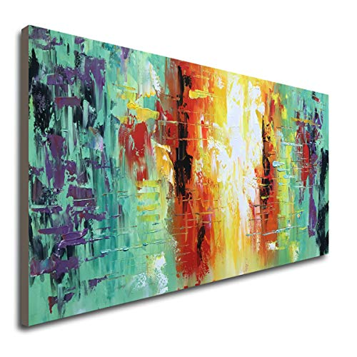 Hand Painted Textured Abstract Artwork Modern Wall Art Decor Handmade Oil Painting on Canvas