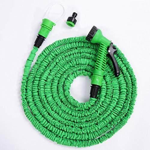 HUADA Tuinslang Pipe 3 Times Expanding Flexibele Magic Light Weight Slang Pipes haspel met 7 Gebed Gun for het wassen van de auto/Watering Bloemen/fruit/Reiniging Windows