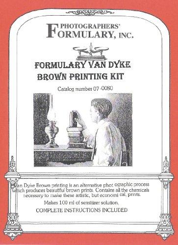 Photographers' Formulary 07-0080 Van Dyke Printing Kit