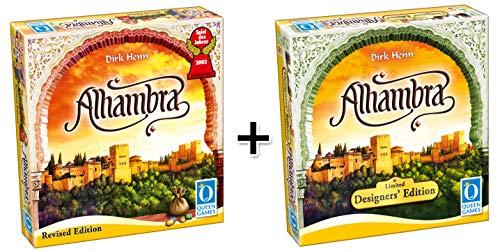 Queen Games - Alhambra Bundel: Alhambra Revised Edition + Designers' Edition