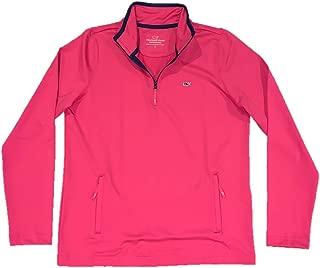 Vineyard Vines Women's Performance Rhododendron 1/4 Zip Sweater