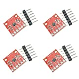 Comidox 4PCS MCP4725 Breakout Module I2C DAC 12Bit Development Board 2.7V to 5.5V Supply with EEPROM for Arduino Raspberry Pi