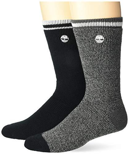 Timberland Herren 2-Pack Full Cushion Boot Socks Freizeitsocken, Ombre, Einheitsgröße