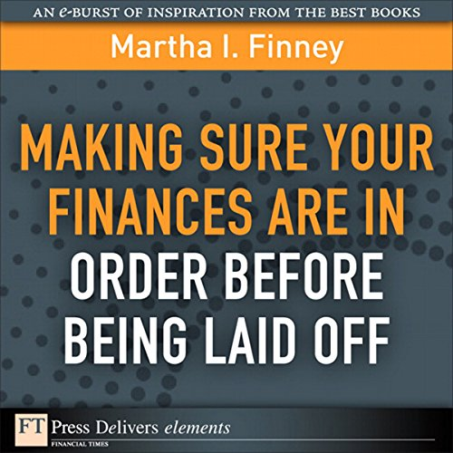 Making Sure Your Finances Are in Order Before Being Laid Off audiobook cover art