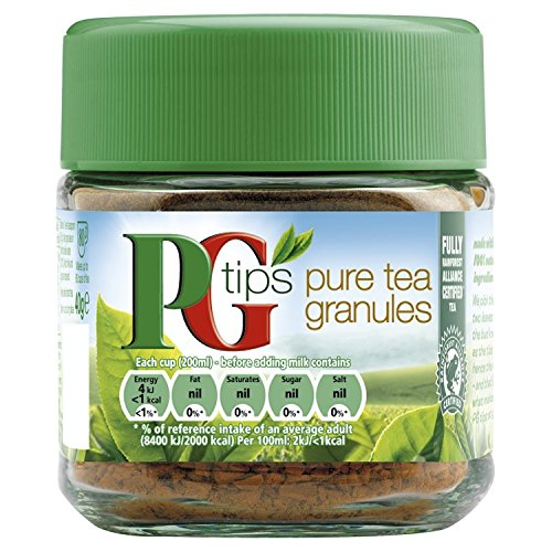 PG Tips Pure Instant Tea Granules 40 g (Pack of 4)