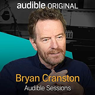 Bryan Cranston audiobook cover art