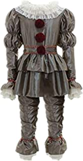 Namcha Dancing Clowns Outfit Scared Dressed Up Costume Halloween Cosplay Party Suit Men Boys