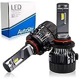 [ AutoSite ] LEDヘッドライト/フォグランプ H10 HB3 HB4 ホワイト 白 AS50 / 6500k ハイビーム ロービーム CREE 12v オートサイト