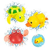 Bébés Jouet de Bain, 3pcs Jouet Bain, Jeux Bain Bebe, Jouet pour Le Bain, Enfant Baignoire Piscine Jouet, Baignoire Piscine Jouet pour Bébés