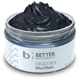Dead Sea Mud Mask by Better Beauty Products, Body and Facial Mask for...
