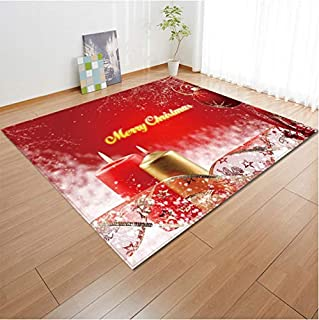 Area Decoration Carpet Christmas Decor For Merry New Year Welcome Doormats Indoor Xmas Party Anime Lovely Floor Kids Mat Cartoon 160 cm * 230 cm