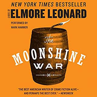 The Moonshine War audiobook cover art
