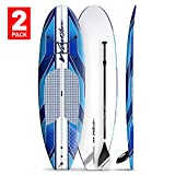 Wavestorm 9' 6' Expedition SUP Stand Up Paddle Board Bundle 2-Pack