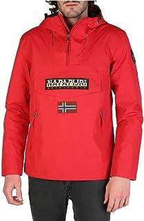 Napapijri Men's Rainforest S Pkt True Red Jacket