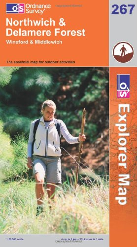 OS Explorer map 267 : Northwich & Delamere Forest