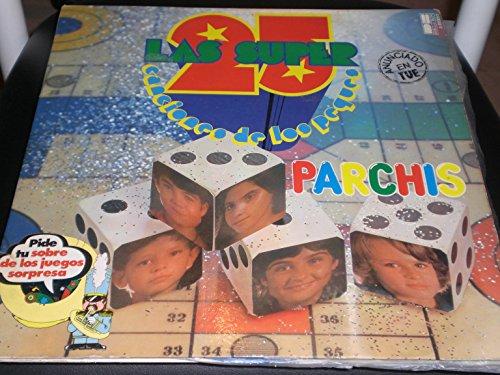 PARCHIS LAS SUPER 25 CANCIONES DE LOS PEQUES LP VINILO 1979 DB BELTER ESPAÑA 2 X VINYL LP GATEFOLD YELLOW & BLUE