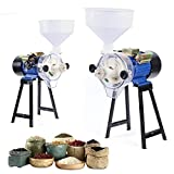 Electric Mill Grinder Wet Cereal Grinding Machine Feed Rice Corn Grain Wheat Milling Machine 2200W 110V With Funnel (With Funnel) -  DYRABREST