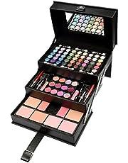 Briconti Beauty Case Make-Up Koffer, Zwart