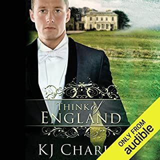 Think of England                   By:                                                                                                                                 KJ Charles                               Narrated by:                                                                                                                                 Tom Carter                      Length: 6 hrs and 50 mins     6 ratings     Overall 4.7
