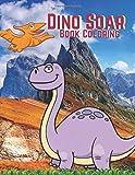 Dino Soar: Book Coloring