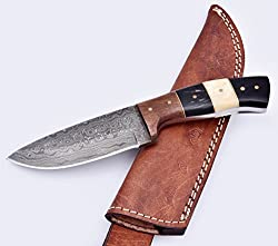 7 Best Damascus Hunting Knives 2019 5
