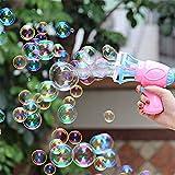 FXCO 3-in-1 Bubble Blower Fan Maschine Spielzeug Kinder Seife Wasser Pistole im Freien Spielzeug...