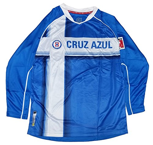 Cruz Azul Youth Jersey Official Licensed Rhinox (Y-Medium)