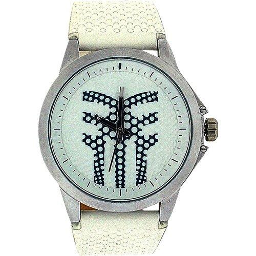 Fenchurch 283/7271-an89–Armbanduhr Herren, Lederband Farbe Weiß