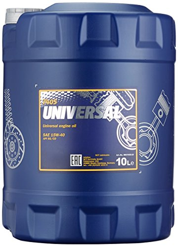 MANNOL Universal 15W-40 API SG/CD Motorenöl, 10 Liter