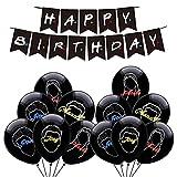 Decoraciones Fiesta Cumpleaños Friends TV Show Globos Pancarta de Feliz Cumpleaños de Friends TV Show Fiesta de Amigos Para Cumpleaños de Niños