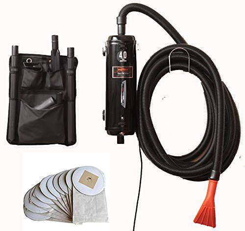 Bonus-Includes 10 Extra Bags - Metro Vac Vac N Blo Pro Commercial Series - Pro83BA-CS car Detailing Dryer and Vacuum. Includes 30 Foot Hose - Made in The USA - 5 Year Motor Limited MFR Warranty!