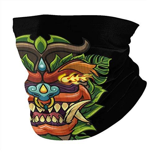 Tzshak Masque de Dragon Lion Chinois Nouvel an Coupe-Vent Chapeaux Bandeau écharpe Masque Facial Lavable poussière Cou Bandana Masque Cagoule