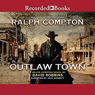 Outlaw Town audiobook cover art