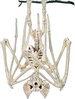 Horrible Halloween Bat Bat Squelette Simulation Squelette Chauve-Souris Lifelike Os Halloween Décorations d'halloween Prop...