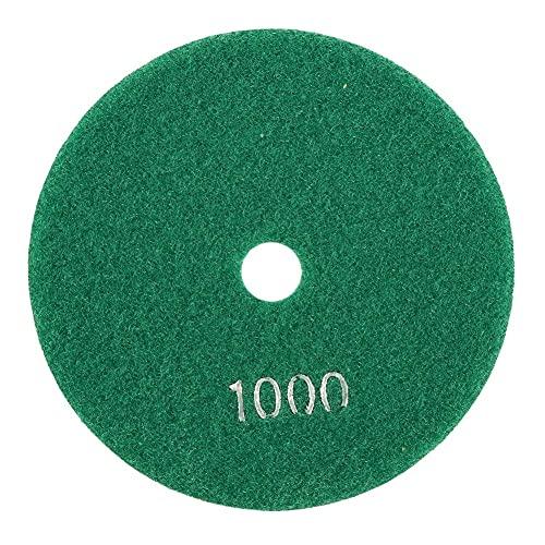 FTVOGUE 5 '' pulgadas 125 mm Discos de esmerilado Húmedos de pulido de diamante Lijado lija Ruedas para mármol de granito de hormigón(1000)