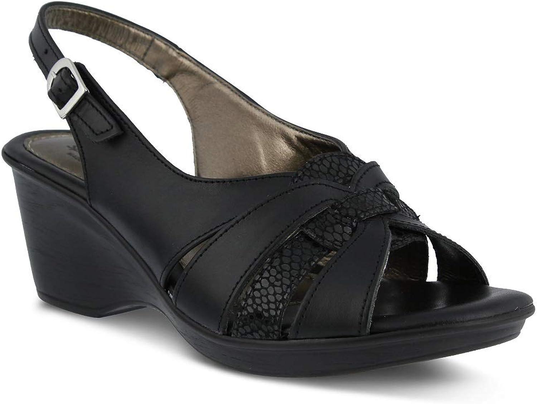Spring Step Women's Adorable Sandals   color Black   Leather Sandals