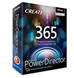 Cyberlink PowerDirector 365 | 1 Year Subscription - Professional Grade Video Editing