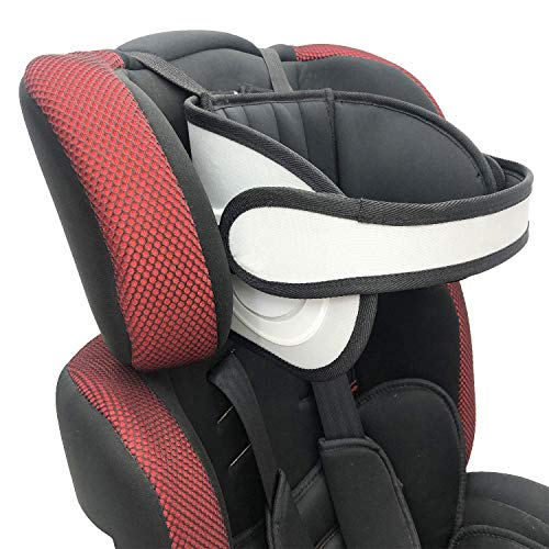 Adjustable Child Car Seat Head Support, Universal Suitable for Both Children and Adults, Safety Car Sleeping Headrest for Child, Infants, Toddlers and Adults (Black)