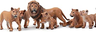 TZOU Educational Toy Toppers  Kids Toddlers, Male Lions, Female Models,Hobby Collector,Lioness (Prone Position)