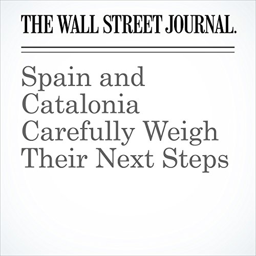 Spain and Catalonia Carefully Weigh Their Next Steps copertina