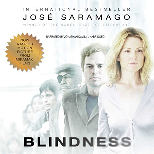 Blindness audiobook cover art